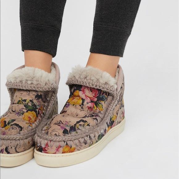 c74ba281886 MOU Mini Eskimo sneaker sz 41 NWT